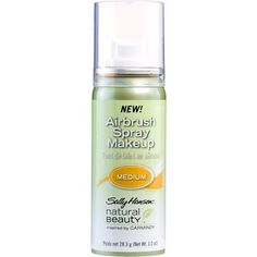 Amazon.com: Sally Hansen Natural Beauty Airbrush Spray Makeup, Inspired By Carmindy