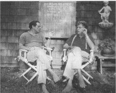 Robert A. Caro and Kurt Vonnegut