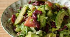Avocado and Bean Salad