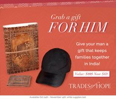 This fair trade bundle includes the Leather Traveler Wallet, the Expedition Journal, and the Venture cap! All three pieces are made with genuine leather! Get this amazing deal at over off our normal retail price! Offer good until Fair Trade, Baseball Hats, Retail Price, Artisan, Leather, Gifts, Cap, Journal