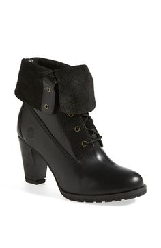 Timberland Waterproof Leather Bootie (Online Only) (Women) available at #Nordstrom