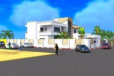 Projet de construction d'une villa a Abidjan en Cote d'Ivoire, 2015 - Albert Kwessi