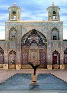 Shiraz, Iran--Gorgeous!  I really hope to make it to Iran at some point.