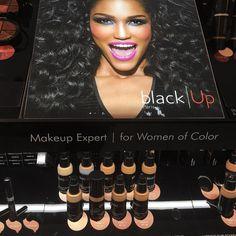 Thinking of trying @blackup foundation. Any comments or suggestions? #blackup #blackupcosmetics #makeup #foundation #blackhair #blackwomen