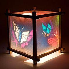 Harmony Paper Lantern Night Light