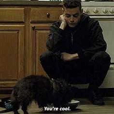 When Elliot is the most relatable Mr Robot, Robots, Night At The Museum, Rami Malek, Film Serie, Best Tv, Funny Memes, Hilarious, The Funny