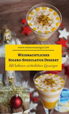 Dieses leckere Solero - Spekulatiius - Dessert passt ganz hervorragend zur Weihnachtszeit. Mit Zimt, Vanille und Spekulatiusgewürz der perfekte Nachtisch zu Weihnachten.  Ohne diese winterliche Gewürze kann man den Nachtisch das ganze Jahr genießen. #solero #elinas #dessert #nachtisch -Werbung-