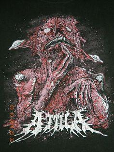 My love for Attila is endless Attila Band, Metal Music Bands, Slipknot Corey Taylor, Band Wallpapers, Screamo, Music Logo, Pop Punk, Death Metal, Music Stuff