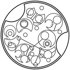"""""""I have been and always will be your friend."""" In circular Gallifreyan"""