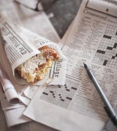 Sunday - crossword puzzles and breakfast