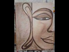 Schritt für Schritt- die Entstehung eines Gemäldes