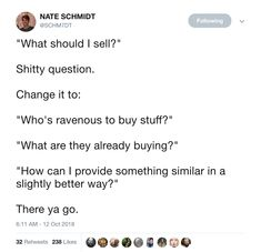 Marketplace Of Ideas, Things To Buy