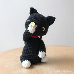 Introducing the all new black cat playing with a little butterfly✨ Available to order now