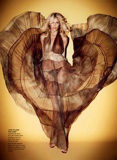 Anja Rubik for Vogue Australia April 2011 by Marcin Tyszka