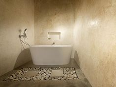 Marrakesh | Rockcote bathroom walls - not necessarily this colour