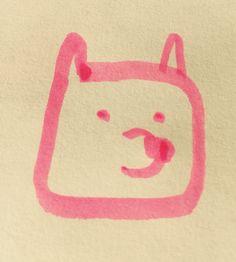 #eintageinbaer Pinker Bär