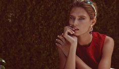 Bianca Balti in Dolce&Gabbana FW 2014-2015 in Emirates Woman September 2014