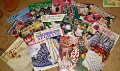 Lot 15  Pattern Books Afghans Throws Covers  Stitch