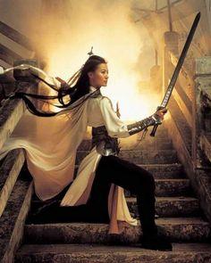 So-Yi Yoon in Shadowless Sword