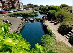 Seaside Resort, Seaside Towns, Blackpool Pleasure Beach, Garden Waterfall, St Anne, Saints, Coast, Tower, Gardens