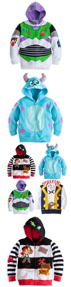 2016 Kid boy jacket Jake and the Neverland Pirates/Monster University/ TOY3 boy boys Hooded coat top outwear track suits