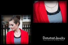 Andrea Funk looks so #classy with her #skull #pendant!