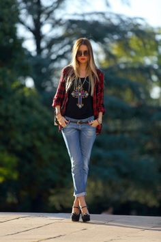 Red-Tartan-Shirts-For-Women-13