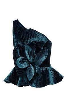 Romanova Velvet Top by JOHANNA ORTIZ for Preorder on Moda Operandi