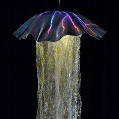 Jellyfish Lamp Design Pendant Lamps Underwater Life Jelly Fish Beach Houses Gl Art Ceiling Hanging