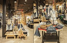 Levi's store by MBH Architects, New York