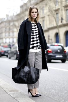 Street Style | Monochrome #fashion