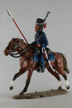 Казак полка М.И.Платова. 1812 г. Cossack, Platov's Regiment, Del Prado Cavalry №04