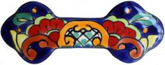 Rainbow Talavera Ceramic Drawer Pull - or these?
