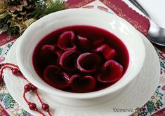 Veggie Christmas, Last Christmas, Garlic Knots, Polish Recipes, Polish Food, Soup Recipes, Cabbage, Food And Drink, Meals
