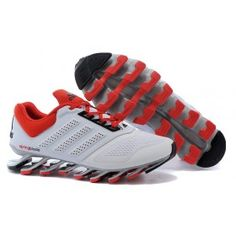 new product fe3c0 ae247 Buy Men s Adidas Springblade Drive White Cardinal Running Shoes For Sale  Super Deals from Reliable Men s Adidas Springblade Drive White Cardinal  Running ...