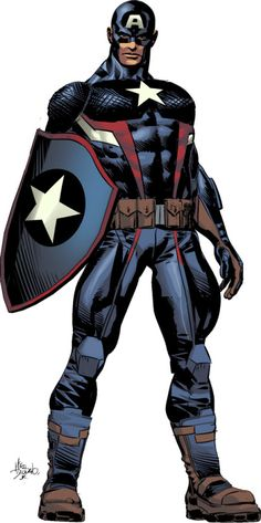 Captain America Mike Deodato, Jr.
