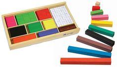 Actividades regletas cuisenaire Fraction Bars, Fun Math, Math Activities, Teaching Math, Kindergarten Math, Math Manipulatives, Primary Maths, Place Values, Basic Math