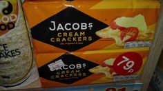 Jacobs Cream Crackers    200g    The original and best.    Top with endless combinations     BB 17th december 2016    Asda price 88p | Shop this product here: http://spreesy.com/DiscountFoodsofLincoln/180 | Shop all of our products at http://spreesy.com/DiscountFoodsofLincoln    | Pinterest selling powered by Spreesy.com