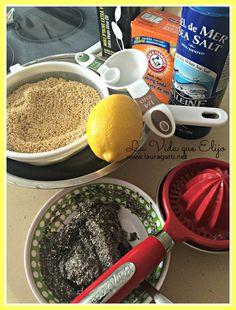 pan de quinoa - ingredientes