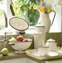 Enamel Kitchen Accessories    ****