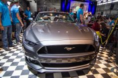 2014 Ford Mustang Cabrio in grey  #Ford #Mustang #mustangclub