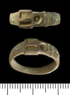 Aidan of Lindesfarne Charm. DiamondJewelryNY Eye Hook Bangle Bracelet with a St