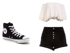 """Untitled #373"" by may5lin on Polyvore featuring River Island and Converse"