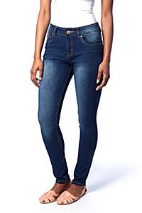 Fixed waistband.<BR><BR>Fabric Cotton Polyester Spandex<BR><BR>Wash Care:<BR>Machine washable do not iron on trim Denim Skinny Jeans, Style Icons, Kids Fashion, Lady, Fitness, Casual, Cotton, Pants, Skinny Fit