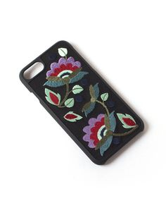 Image of Tech Candy Better Off Thread Multicolor Embroidered iPhone 6 & 7 Case Henna Phone Case, Candy Phone Cases, Iphone 7, Iphone Cases, Latest Mobile Phones, Hungarian Embroidery, Cell Phone Holder, Iphone Models, Embroidered Flowers