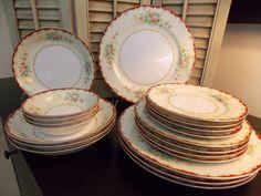 Vintage CHINA DINNERWARE SET Four Five by VintageCreativeAccen, $64.00
