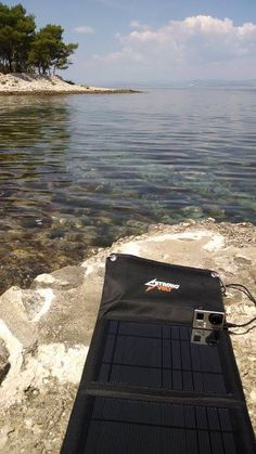 The new trend... Outdoor solar charging  in beautiful Croatia or whereever your go.
