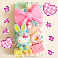 Hey, I found this really awesome Etsy listing at http://www.etsy.com/listing/110959438/kawaii-bunny-kitty-decoden-sweets-phone