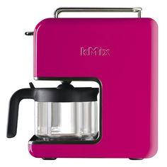 Cafeteira Elétrica Kmix Kenwood Pink 110 volts - Utensílios Domésticos / Utilplast - Utilplast
