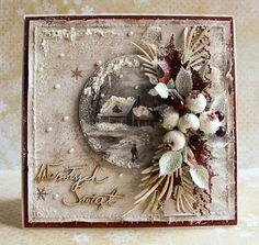 Dorota_mk: Again a small rash of Christmas cards .....